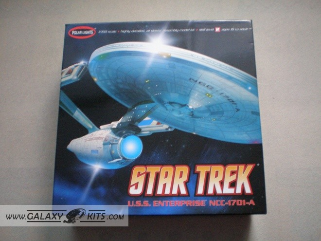 USS Enterprise NCC-1701 A-refit / 1:350 / Polar Lights