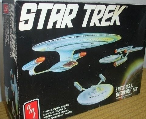 3-piece USS Enterprise Set – AMT/ERTL