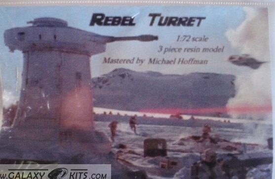 REBEL TURRET / 1:72 / JPG Productions
