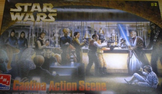 Cantina Action Scene / 1:90 / AMT/ERTL/Airfix