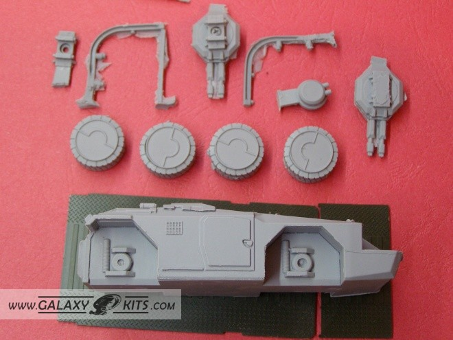 M-577 APC 1:72 BamBam Model Productions