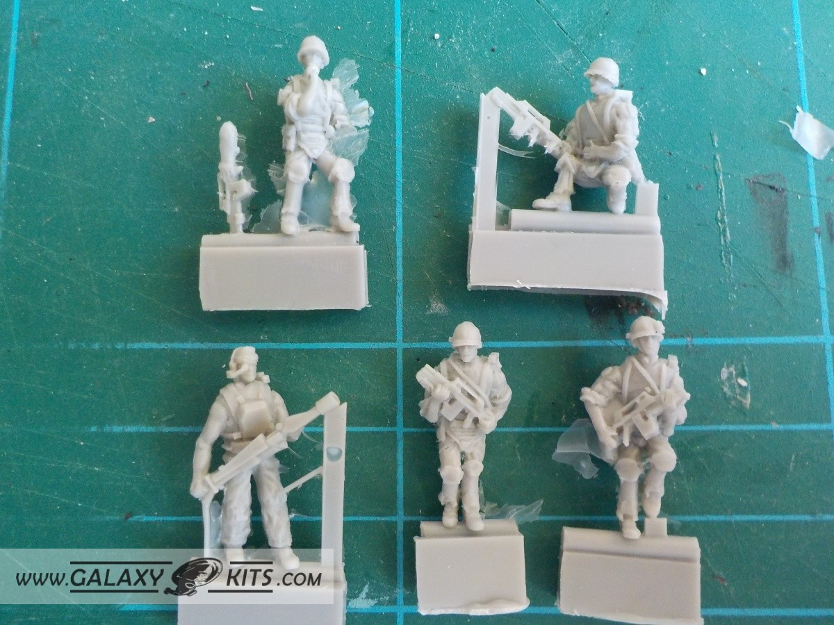 Colonial Marines / 1:72 / Retrokit