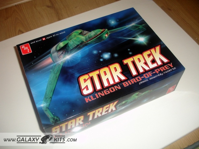 Klingon Bird of Prey / 1:350 / AMT