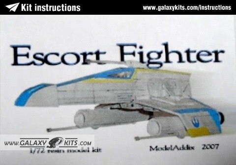 Escort Fighter (E-Wing) / 1:72 / ModelAddix