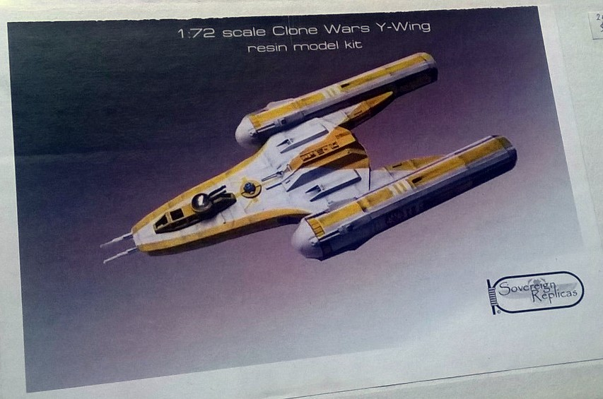 Clone Wars Y-Wing / 1:72 / Sovereign Replicas