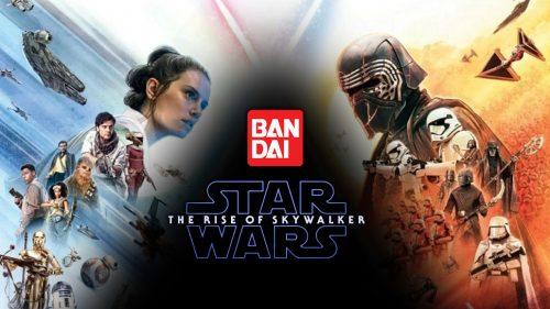 Nowe modele Bandai z filmu Star Wars: Skywalker.Odrodzenie