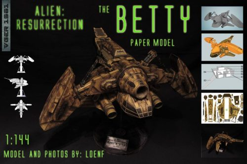 Betty – Alien:Resurrection / 1:144 / Vger1981