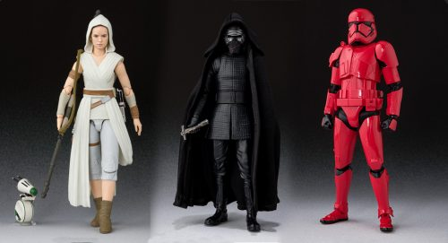 Propozycje S.H.Figuarts do filmu Star Wars: Rise of the Skywalker