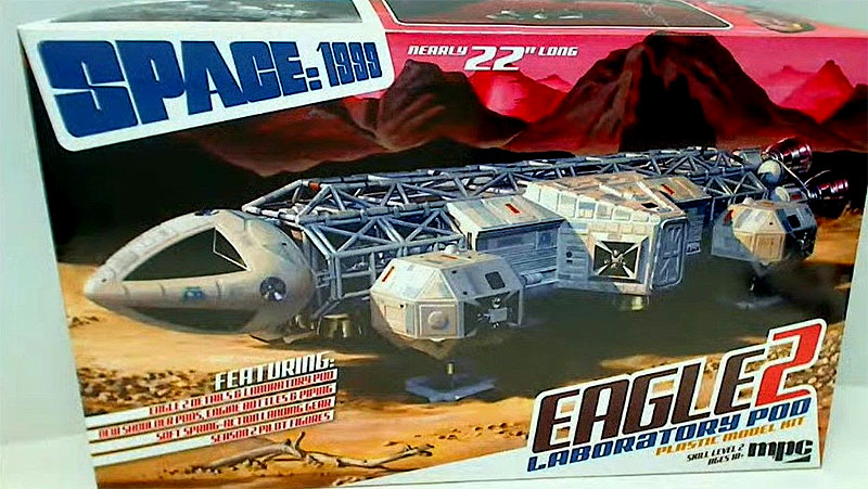 Space 1999 Laboratory Eagle II / 1:48 / MPC