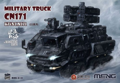 Military Truck CN171 / Egg scale / Meng