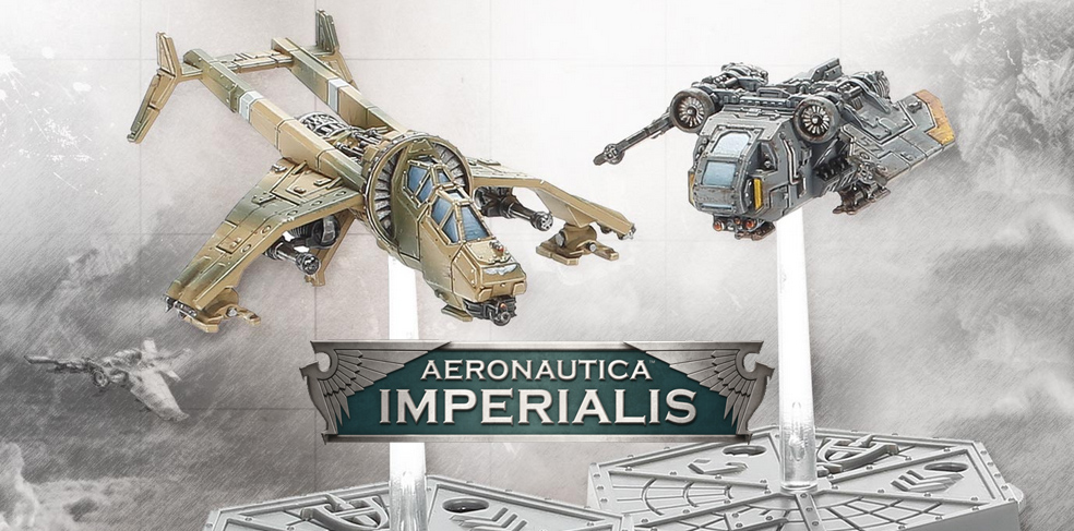 Nowe modele do Aeronautica Imperialis od Forge World