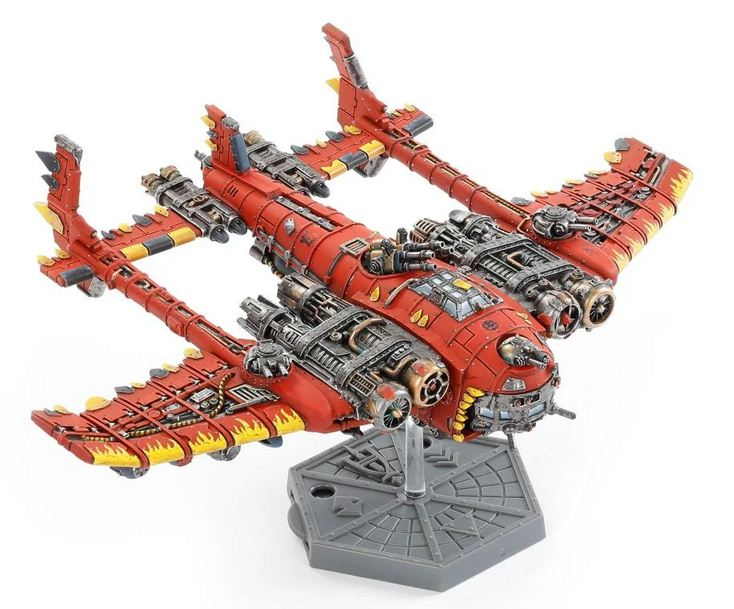 Ork Air Waaagh! Mega Bommer do Aeronautica Imperialis od Forge World