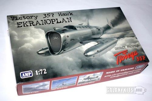 Victory 357 Hawk Ekranoplan / 1:72 / AMP