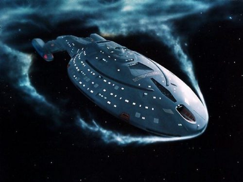 Star Trek: Voyager / 1:1000 / Round 2 Models