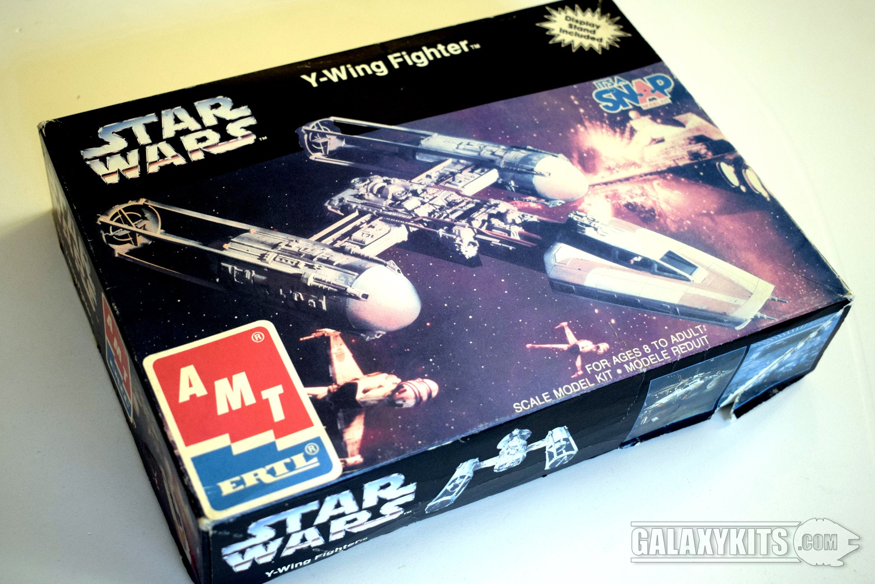 Y-Wing Fighter / 1:95 / Amt-Ertl