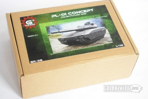 PL-01 Concept Polish Future Tank (GR-06) / 1:72 /  G3 Resin
