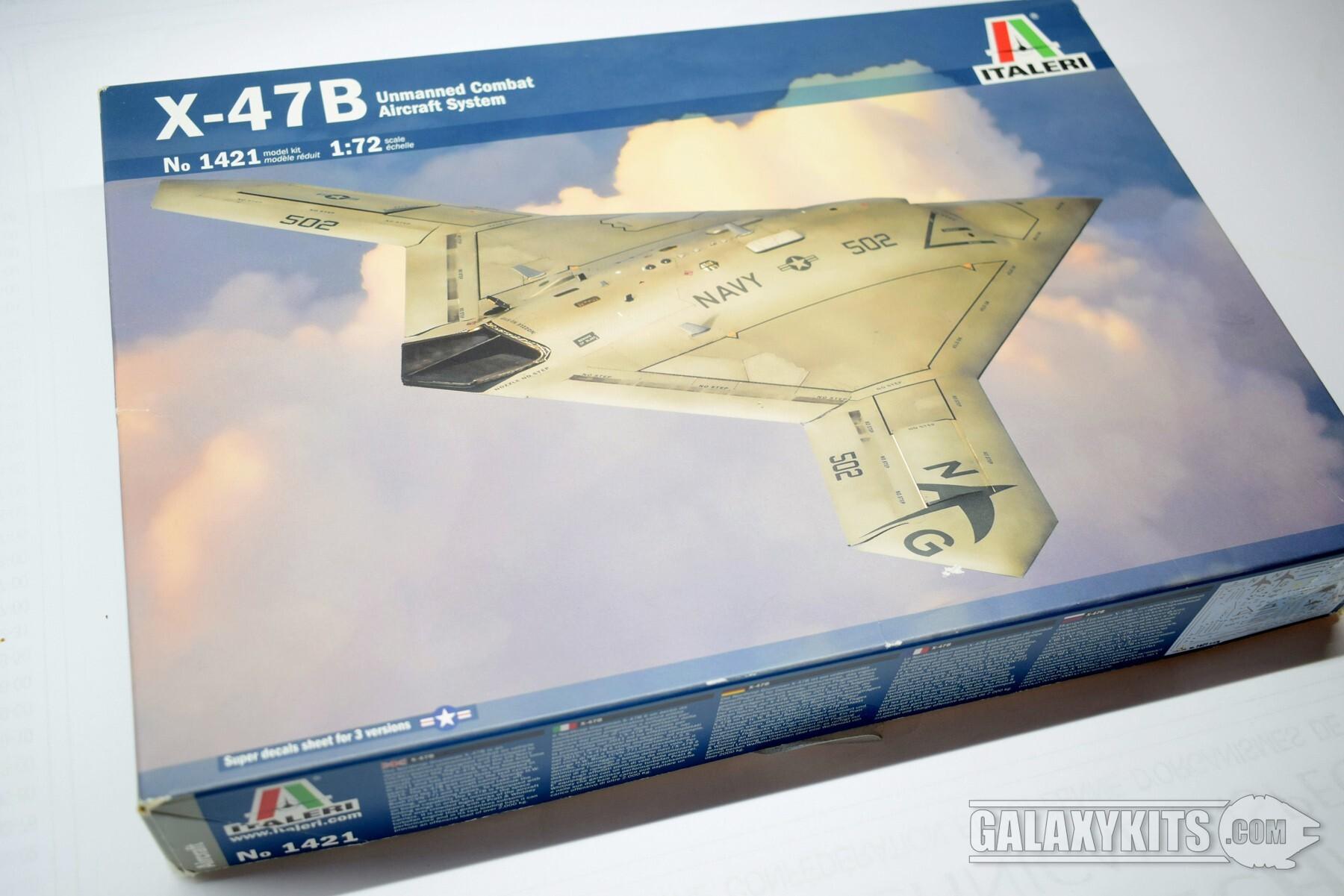 X-47B UCAS / 1:72 / Italeri (1421)