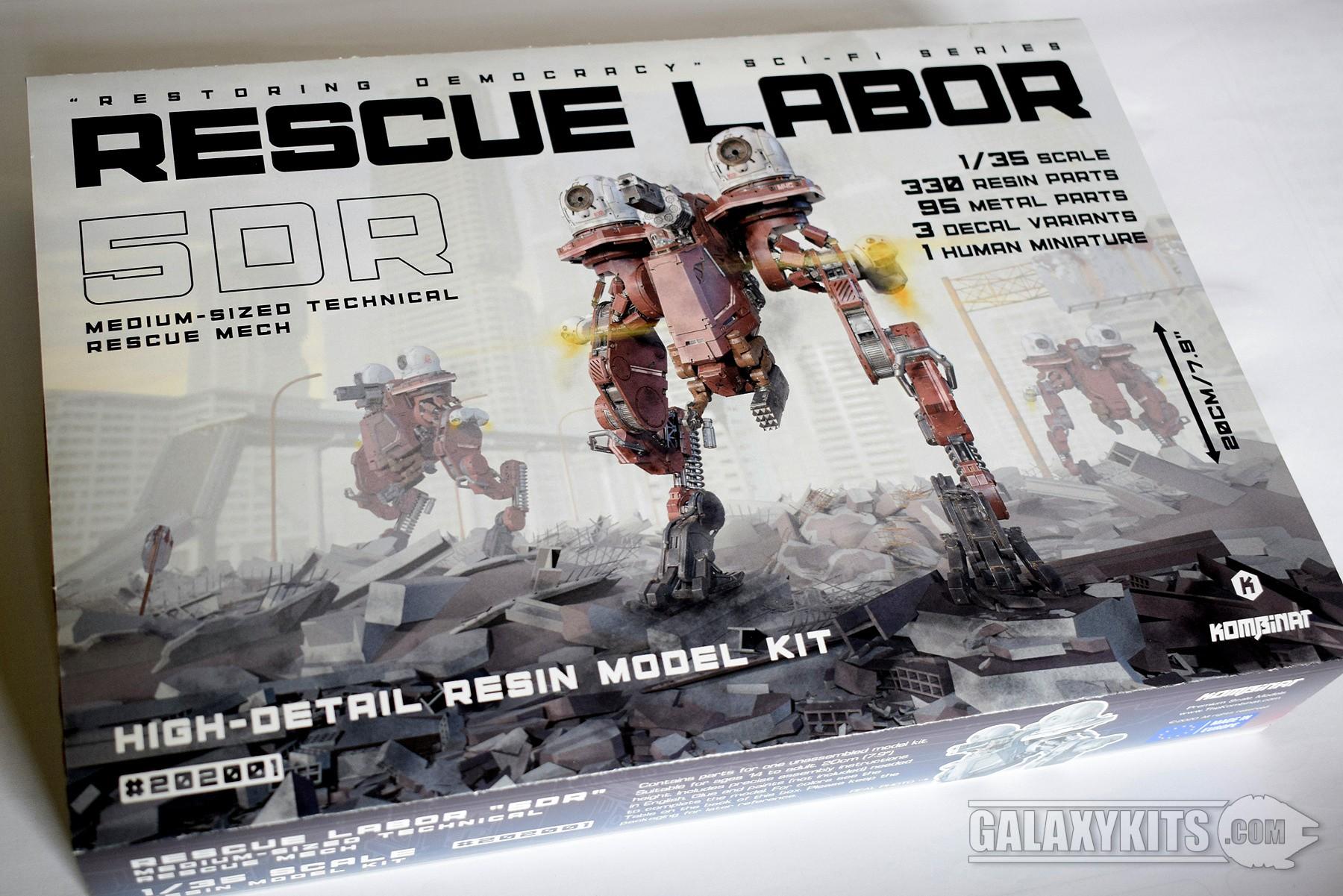 Rescue Labor 5DR / 1:35 / Kombinat