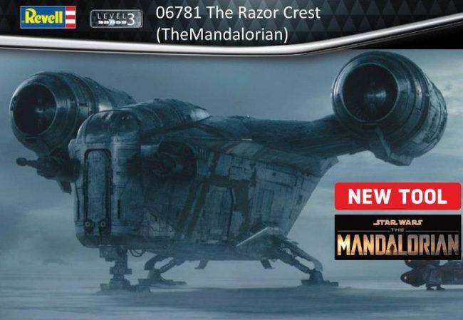 Razor Crest od Revella – pierwsze zdjęcia części – Aktualizacja!